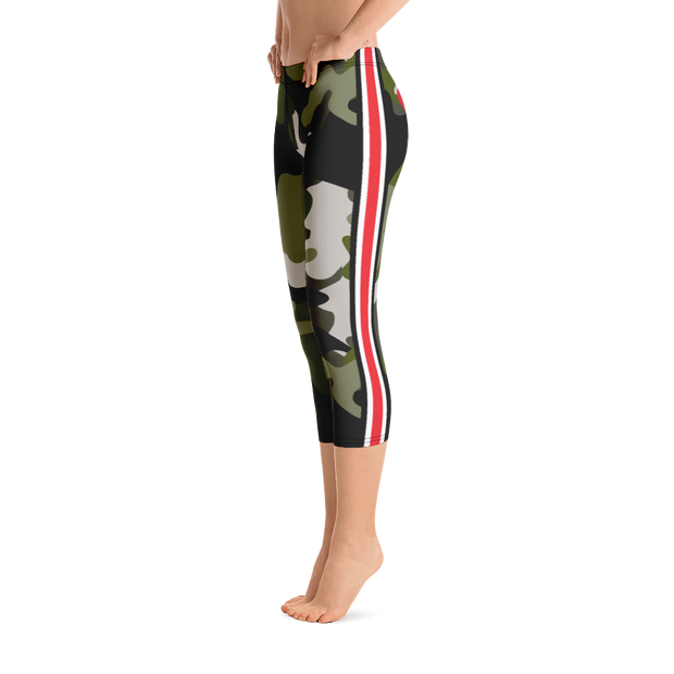 Glamo Capri Leggings
