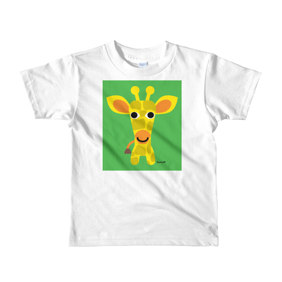 Giraffe Short sleeve kids t-shirt