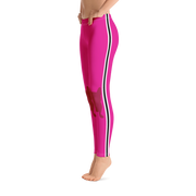 Cherry Pink Frenchie Leggings