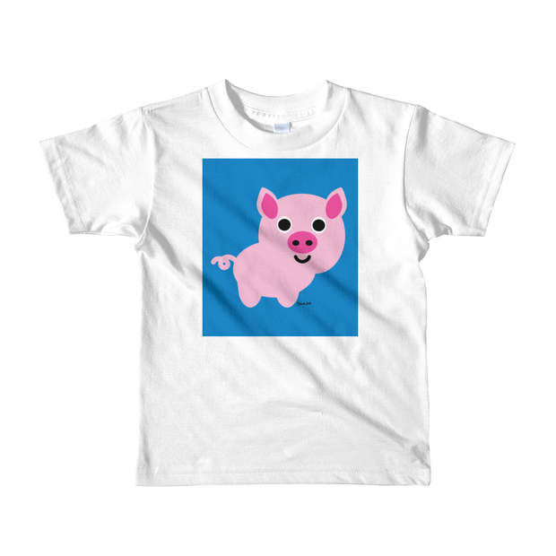 Piggy Short sleeve kids t-shirt