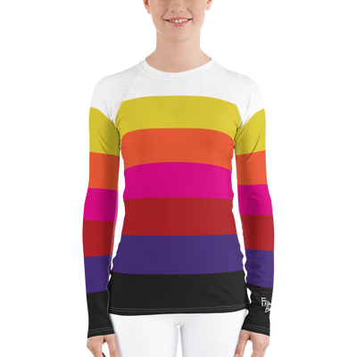 Champion Stripe Ski and Surf Rash Guard