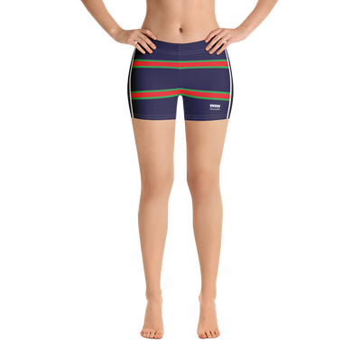 Italia Stripe Shorts - Navy