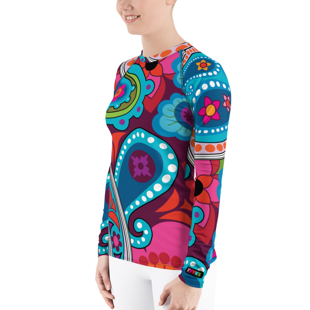 Raj Long Sleeve Rash Guard