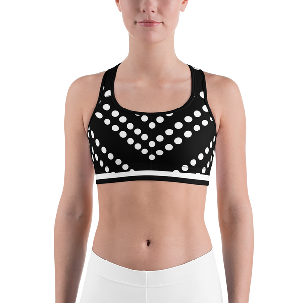 Vee Dot Racer Back Sports bra