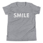 Girl's Smile Short Sleeve T-Shirt - Black