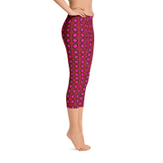 Jumping Bean Pink Capri Leggings