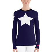Super Star Long Sleeve Rash Guard