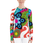 Fantasia Long Sleeve Rash Guard