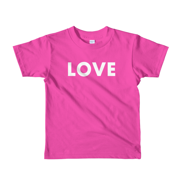 Love Short sleeve kids t-shirt