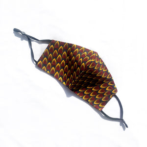 AFRICAN PRINT COTTON FACE MASK