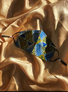THE KINGDOM COLLECTION: AFRICAN PRINT COTTON FACE MASKS DROP II
