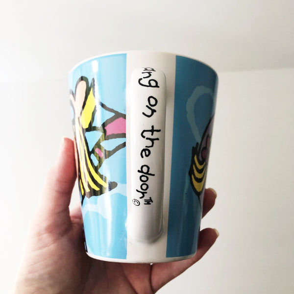 GROOVY CHICK Bang On The Door MUG 2004 Y2K