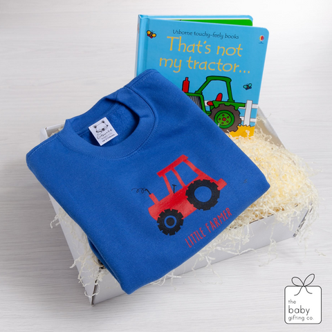 Little Farmer Sweat-shirt Gift-set | The Baby Gifting co