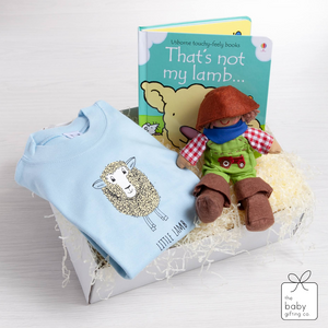 Little Lamb T-Shirt Gift-Set | The Baby Gifting Co