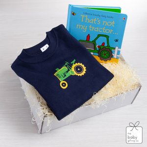 Vintage Tractor Gift Set | The Baby Gifting Co