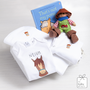Luxury Little Horse Baby Gift Set | The Baby Gifting Co