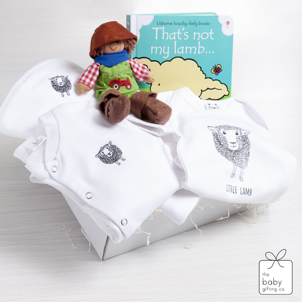 Luxury Little Lamb Baby Gift Set | The Baby Gifting Co