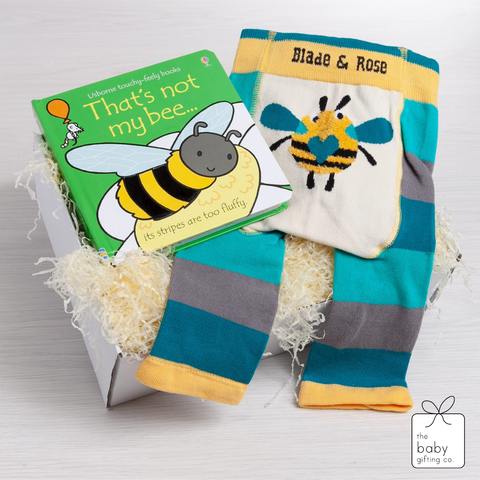 Little Bee Book & Legging Gift Set | the baby gifting co