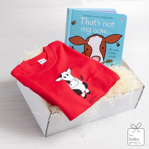 Mooo Cow Gift Set | The Baby Gifting Co