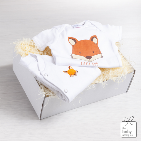 Little Cub Sleepsuit Gift Set | The Baby Gifting Co