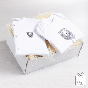 Little Lamb Sleepsuit Gift Set | The Baby Gifting Co