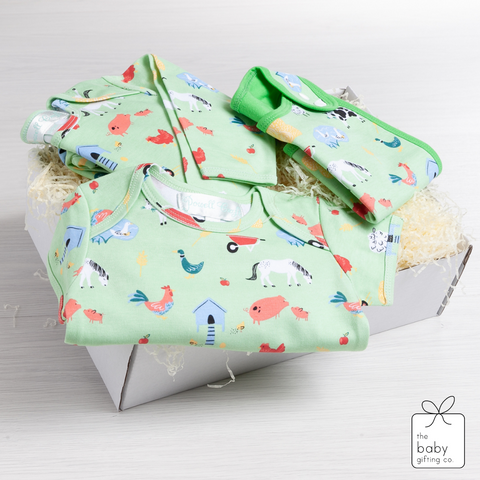 Down at the Farm Baby Gift Set | The Baby Gifting Co