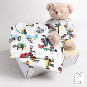 Little Farmer Pyjama & Ted Gift Set | The Baby Gifting Co