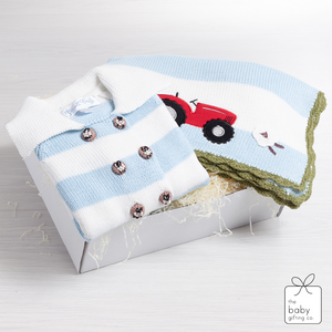 Farm Blanket and Pram Coat Gift Set | The Baby Gifting Co