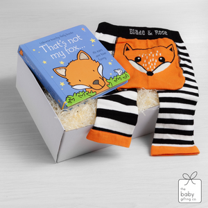 Little Fox Book & Legging Gift Set | the baby gifting co