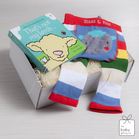 Little Sheep Book & Legging Gift Set | the baby gifting co
