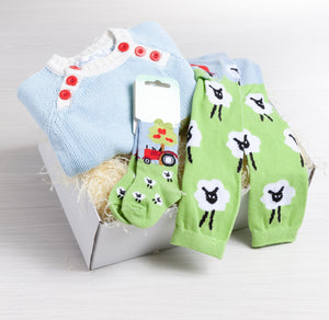 Little Farmer Outfit Gift Set | The Baby Gifting Co