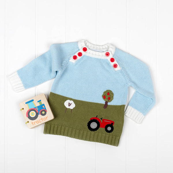 At the Farm Jumper Gift Set | The Baby Gifting Co