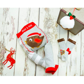 fluffy robin leggings - the baby gifting co