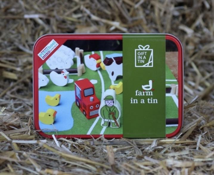 Farm in a Tin Gift by Apples to Pears | The Baby Gifting Co