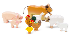 Le Toy Van Sunny Farm Wooden Toy Set | The Baby Gifting Co
