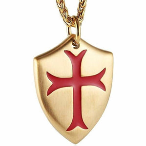 IRON CROSS KNIGHTS OF THE TEMPLAR NECKLACE