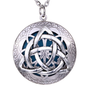 Antique Silver Celtics Knots Locket