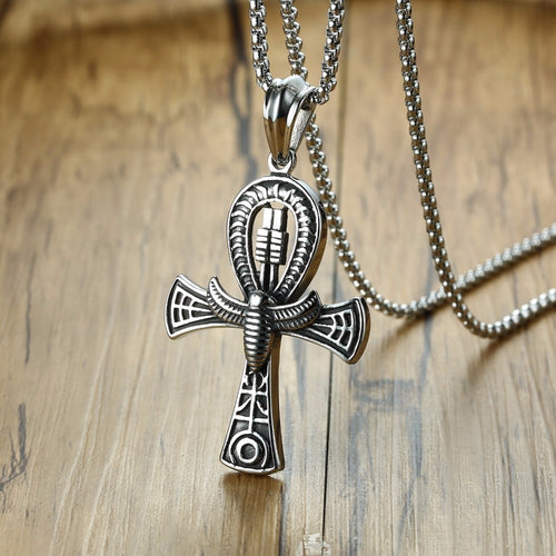 EGYPTIAN CROSS OF LIFE ANKH NECKLACE
