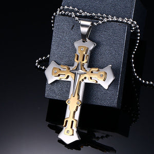 TITANIUM STEEL KNIGHTS TEMPLAR CROSS