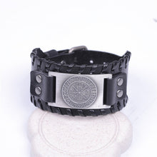 Load image into Gallery viewer, COMPASS LEATHER BRACELET