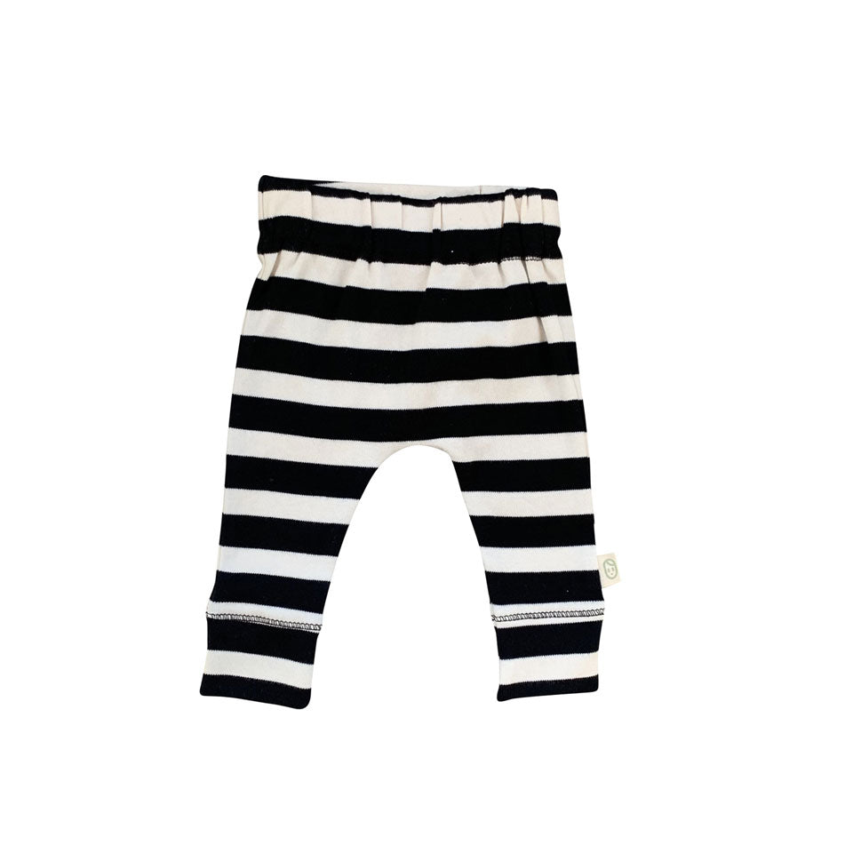 Leggings - Black Stripe