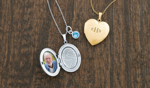 The Gift of Connection – Fingerprint Lockets