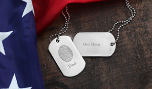 Precious Gift of a Hero - Military Dog Tag