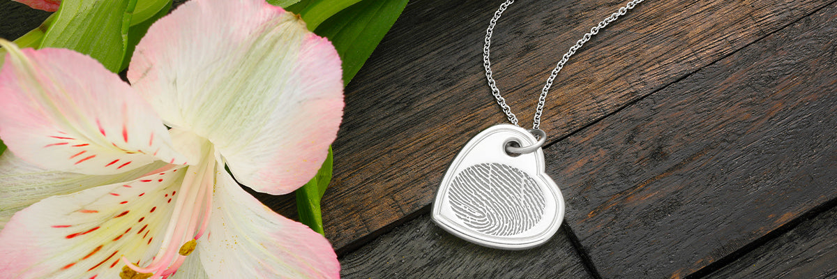 Fingerprint Pendant Keepsake