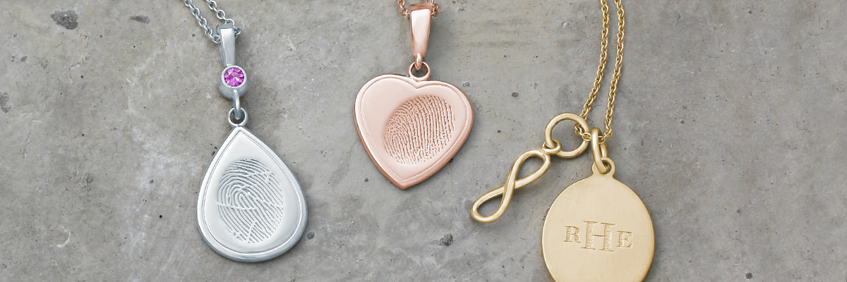 Fingerprint Charm Keepsake