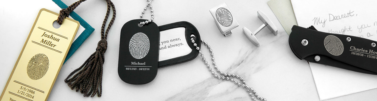 Fingerprint Keepsakes