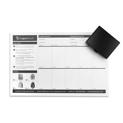 Ink Fingerprint Collection Kit (Partners)