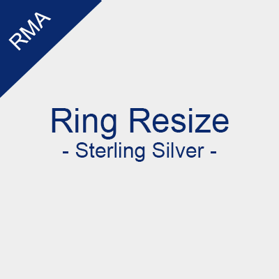 RMA - Ring Resize - Sterling Silver