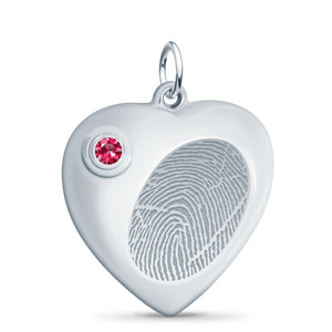 Heart Cremation Urn Pendant