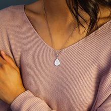 CHARM - Sterling Silver Teardrop (Partner Plus)